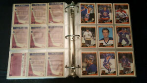1984-85 opc nhl hockey cards near set 385/396