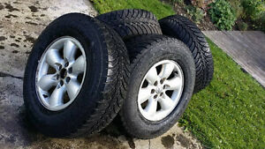 245/70R16 Winter Tires and Rims