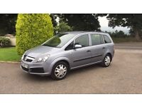 2007 vauxhall Zafira seven seater (low miles )