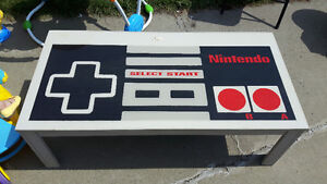 Nintendo NES games table one of a kind custom piece