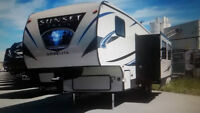 REDUCED >>>Sunset Trail 270BH Fifthwheel for sale Cheap.
