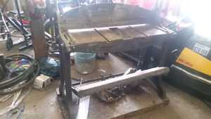 Large cast shear