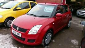 SUZUKI SWIFT 1.3 GL 3 DR IN BURNT ORANGE 1 LADY OWNED ONLY 79K MILES F.S.H 2010
