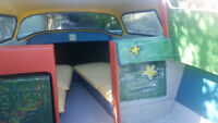 Newly Repurposed 50s Glasspar Boat ~ Ready for Summertime Fun !!