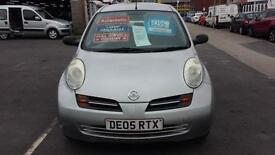 2005 NISSAN MICRA 1.2 S Automatic 3 Door From GBP2,495 + Retail Package
