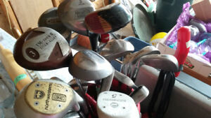Golf Clubs--TAKE ONE OR ALL
