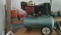 Honda 5.5 Gas Powered Compressor