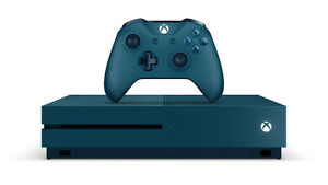 Xbox 1S Limited Edition Blue 500 GB