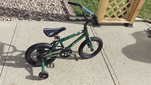 """14"""" bike for sale with training wheels"""
