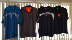 Assorted XL and XXL men's Golf shirts for sale