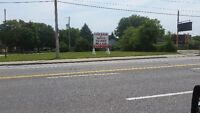 Vacant Commercial Corner Lot - Tecumseh Rd W. @ Campbell