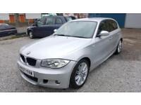 2007 BMW 118D M SPORT 2.0 DIESEL SILVER 5 DOORS HATCHBACK