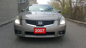 2007 Nissan Maxima, certified and e tested.