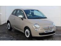 2013 Fiat 500 2013 63 Fiat 500 1.2 Colour Therapy Petrol beige Manual