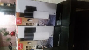 2 Brand New Outdoor Wall Mount Light Fixtures