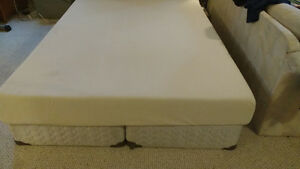 QUEEN mattress and box springs Prince George British Columbia image 1