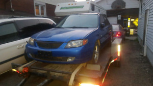 Mazda protege part out.