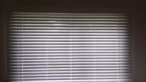 White Faux Blinds – for any room! 2 Sets