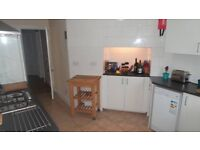 Large furnished double room, weekly cleaner