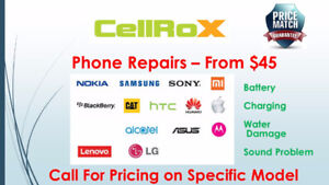 phone repairs starting from 50$ we fix all kind of mobile phones