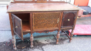 two antique side boards at 390$ each