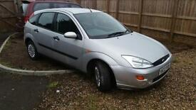 2001 Ford Focus 1.6i 16v Ghia 85 k new mot service warranty included
