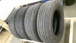 USED TIRES / LT 225 / 75 R-16  ALL SEASON  SET OF 4 $160 FIRM