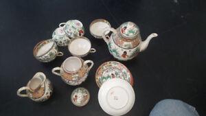 Bone China tea set Vintage