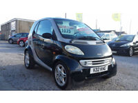 MERCEDES SMART CAR 600cc BLACK * LEFT HAND DRIVE * AUTOMATIC *