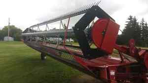 Case IH 8230 30 ft pull type wind rower for sale