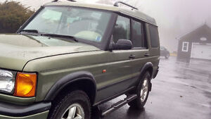 2001 Land Rover Discovery Loadec SUV, Crossover