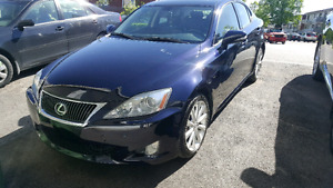 2009 AWD LEXUS IS 250 for sale