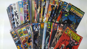 Large Lot of Marvel Wolverine Comic Books