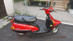 1987 YAMAHA XC 200T RIVA SCOOTER FOR SALE. (RED) $1,200.00
