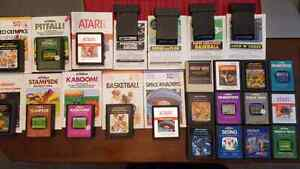 24 retro Atari 2600 game cartridge collection ! Kitchener / Waterloo Kitchener Area image 1