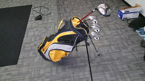 Set of LH golf clubs - used