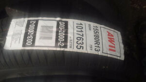 new all 4 tires for sale all seasonail size 155\80r13 300.00