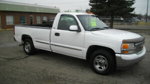2002 GMC Sierra Automatic  2WD  Safety/Warranty