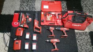 Hilti cordless tools