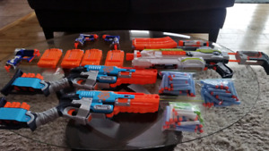 Big Lot of Nerf Guns and Darts