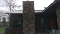 Stone - Chimney - Parging  Installation/Repair