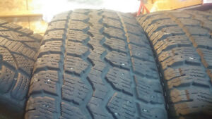 4 215/70R16 like new total terrain winters St. John's Newfoundland image 2