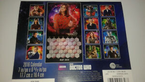 Doctor Who 2016 Calender Cambridge Kitchener Area image 2