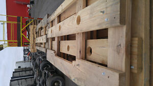 New load of pallets and great reusable lumber West Island Greater Montréal image 1