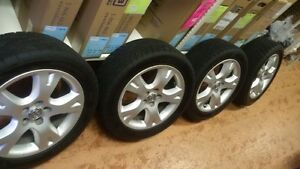 Performance Summer Tires and rims from 2006 Toyota Matrix