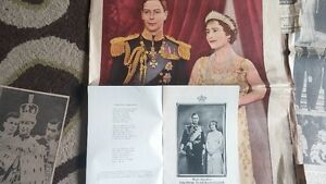 1937 Coronation pictures, newspaper articles