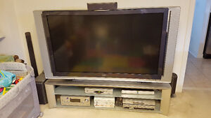 """SONY Wega 60"""" KDF60XS955 TV plus Stand and Remote"""