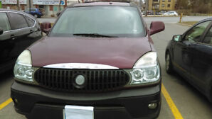 2004 Buick encore.7 seats. working radio,AC and CD player