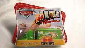 DISNEY PIXAR WORLD OF CARS CHICK HICKS HAULER MINI ADVENTURES