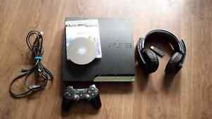 120gb PS3 with Sony headset and Final Fantasy X/X2